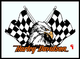 Harley Davidson Window Decals/Stickers | BACKFIRE ALLEY