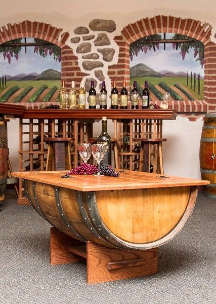 120 best wine barrel ideas images on pinterest | whiskey barrels