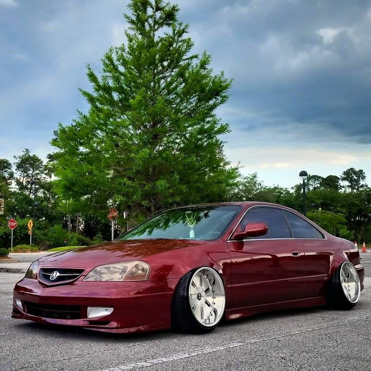 #Acura_CL #Slammed #Stance #Modified