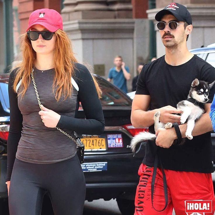 @SophieT y @JoeJonas... ¡amplían la familia! La actriz de 'Juego de Tronos' y el cantante de DNCE tienen ahora un bonito cachorro de husky siberiano al que han llamado @PorkyBasquiat y que incluso ya cuenta con su propio perfil en Instagram. ¡Un perrito de lo más cool! 🐶 #joejonas #sophieturner #porkybasquiat #perro #mascota