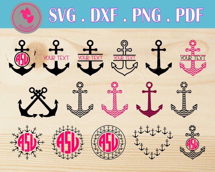 anchor svg,anchor monogram,anchor svg,anchor dxf,anchor monogram svg,anchor monogram dxf,anchor monogram frame,anchor svg files,beach svg