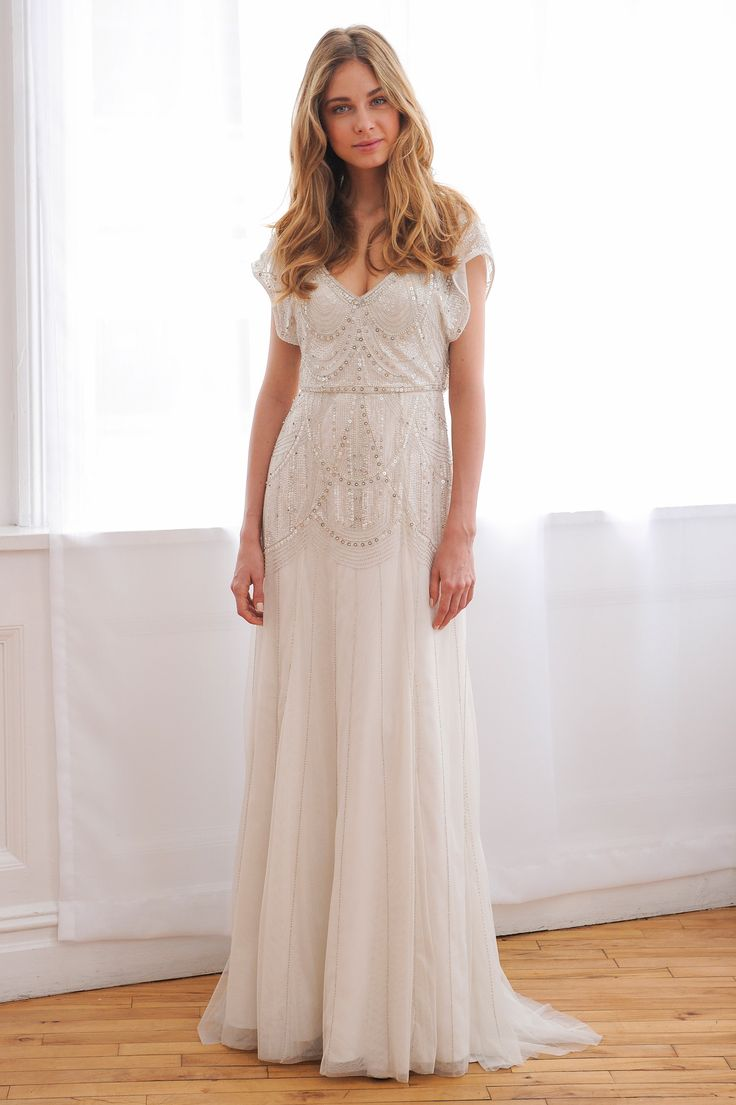 Davids Bridal Wonder by Jenny Packham F16
