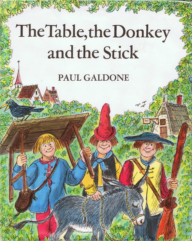 The Table, the Donkey and the Stick | EAS --- BOOKS | Pinterest