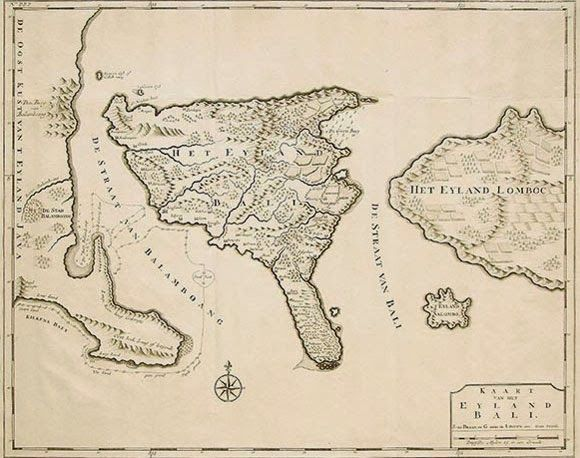 Old Bali Map