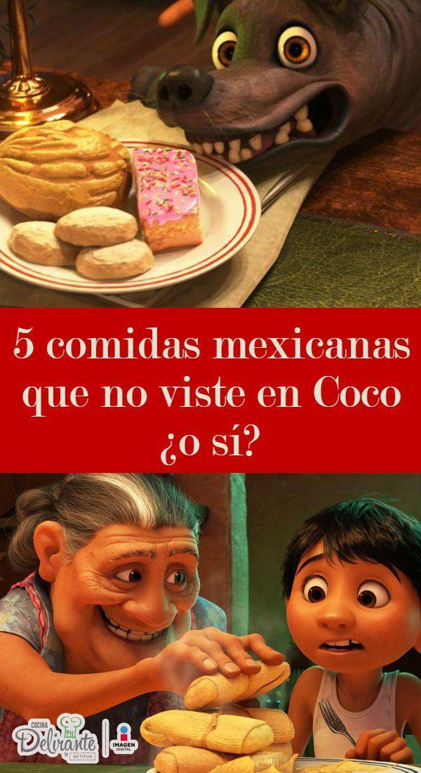 Las tradiciones mexicanas son protagonistas de esta película, pero, ¿viste todas las referencias de comida?