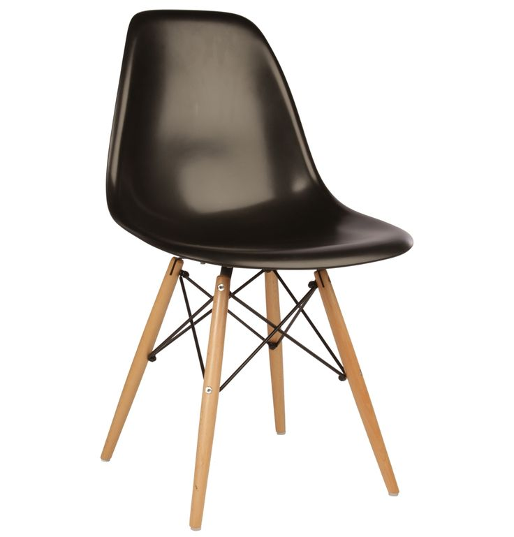 4 Matt Blatt Replica Eames DSW Side Chairs - Black/Beech ... would still like another 2 to go with them