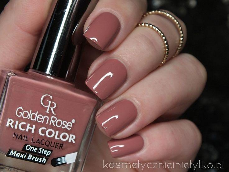 Kosmetycznie i nie tylko: Golden Rose Rich Color 78 / nowy odcień