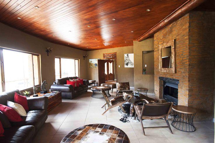 Maliba Lodge Lounge #Lesotho #MalibaLodge