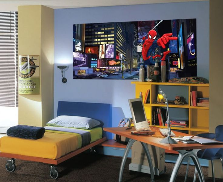 The Amazing Spiderman Kids Wall Mural By WallandMore. Marvel Collection. Part 43