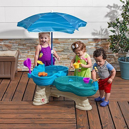 Outdoor Fountain Play Center Water Table For Kids Garden Yard Toy Fun Summer NEW #OutdoorPlay
