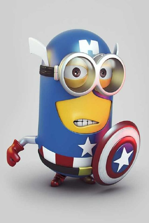 There is..... Captain Minions!!!