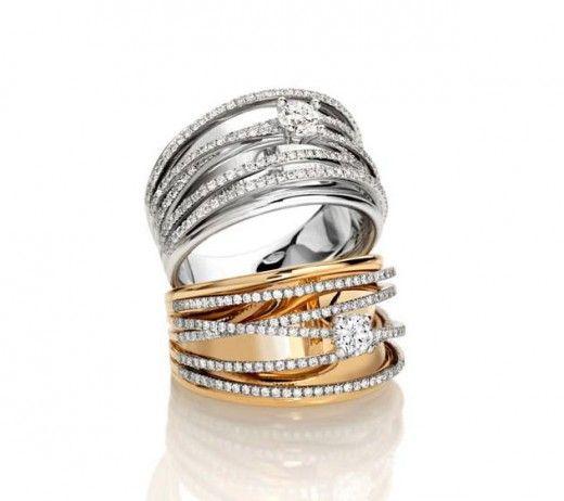 Giorgio Visconti Diamond Rings