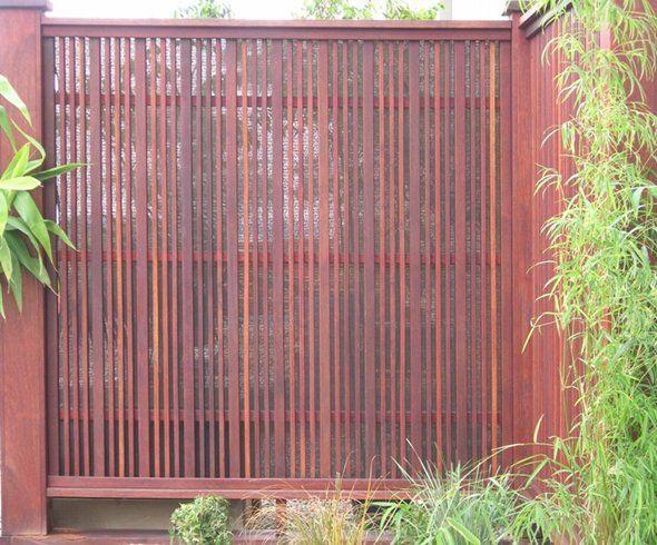 Chippy 39 s outdoor timber screening merbau screening for Garden screen designs