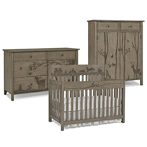 Give Your Nursery A Relaxed Look With The Rustic Inspired Styling Of Forest Animal Furniture Collection By Ed Ellen Degeneres