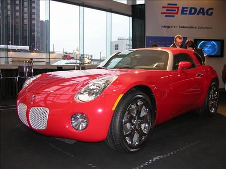 Detroit Show Wrapup: EDAG Pontiac Solstice Wagonlet In The Flesh