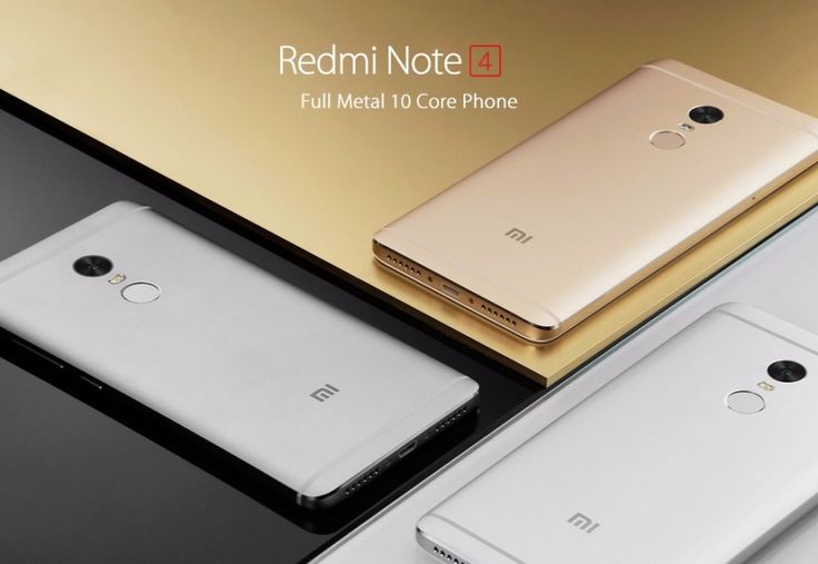 Xiaomi Redmi Note 4 Forgoes USB Type-C and But Still Supports Fast Charging