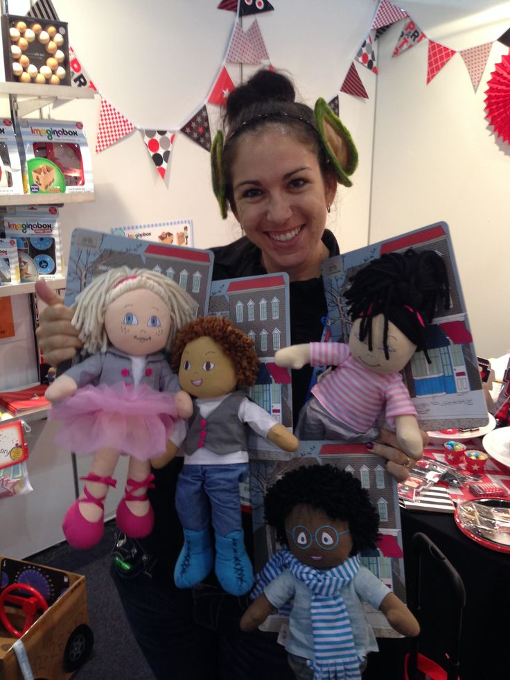 What do you think about these multicultural dolls? #toyfair
