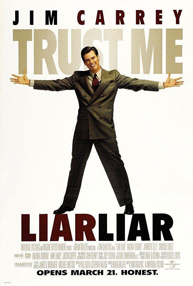 Mentiroso Mentiroso 1997 Filmaffinity Mentiroso Compulsivo Promesas Incumplidas Jim Carrey