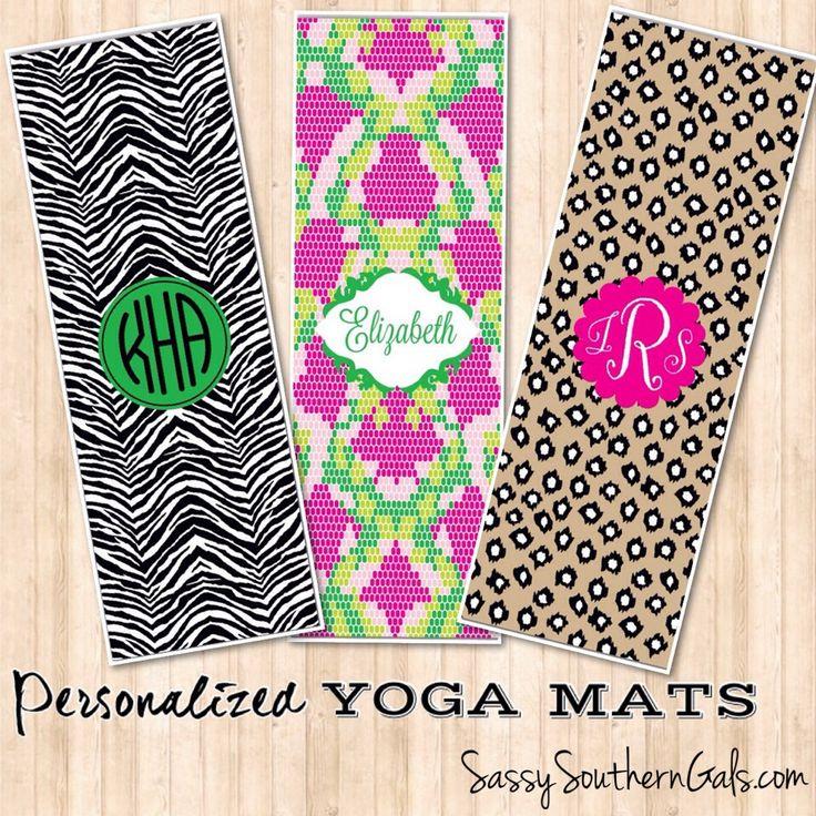 Monogrammed / Personalized Yoga Mat