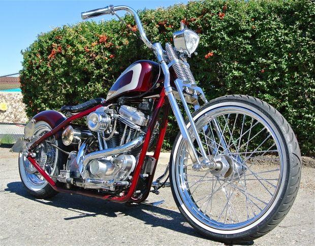 Custom Chopper Bobber – 2012   Harley Davidson Motorcycles   Harley Davidson Motorcycle
