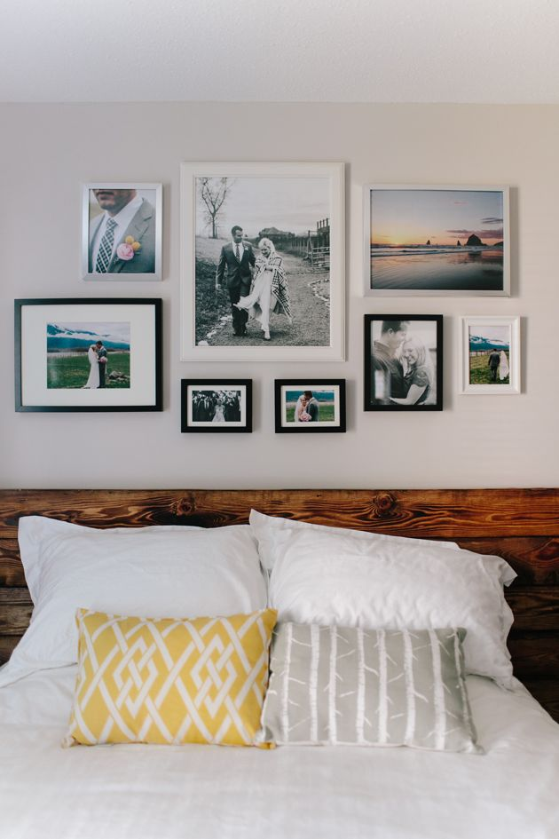Best 25+ Photo wall arrangements ideas on Pinterest | Wall frame ...