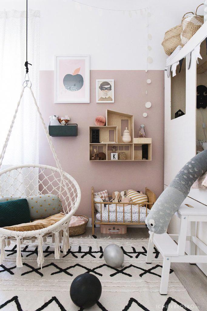 Trendy Madchen Kinderzimmer Mit Puppenhaus Von Ferm Living Und