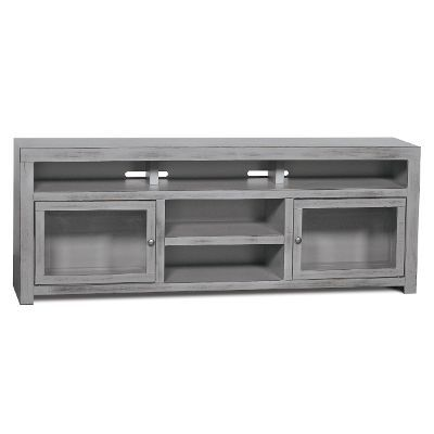 72 Inch Gray TV Stand   Brooklyn