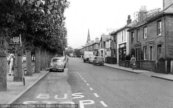 Burgess Hill, Lower Church Road c.1960, from Francis Frith
