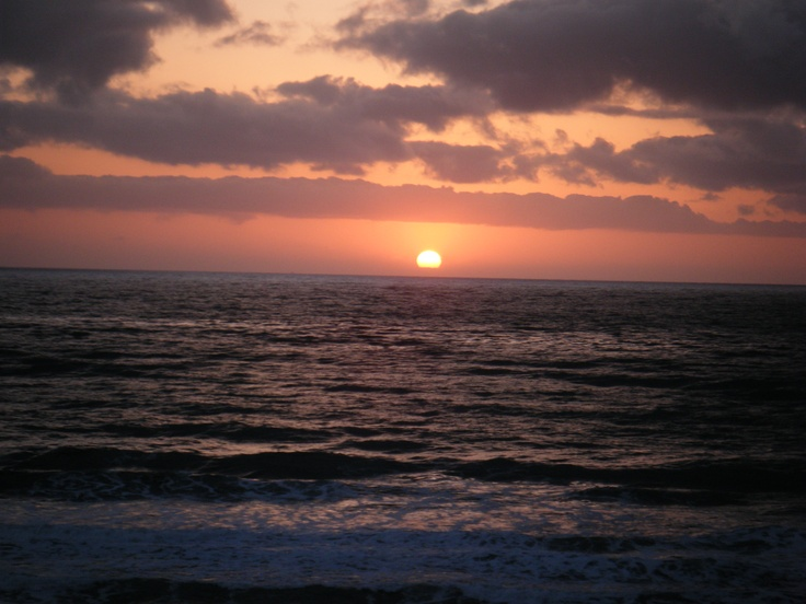 California sun set!