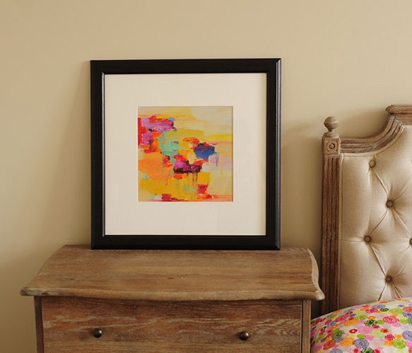 Art PRINT- Giclee Print- wall decor- wall art- 16x16 from original oil