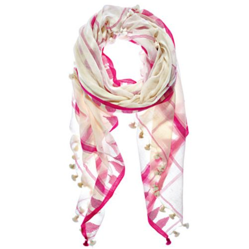 Pink Triangle Saatvik Scarf by Aish