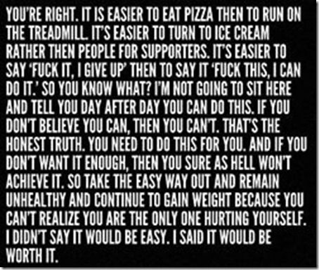 This rocks!: Truths Hurts, Remember This, Self Motivation, Quote, Pep Talk, Worthit, Worth It, Weights Loss, Fit Motivation