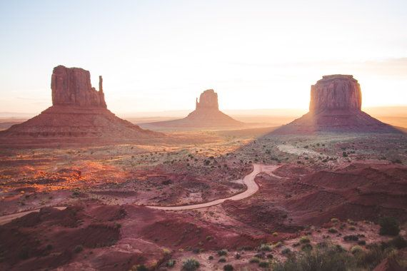 Monument Valley Sunrise Profits Donated to by LivingWaterPrints