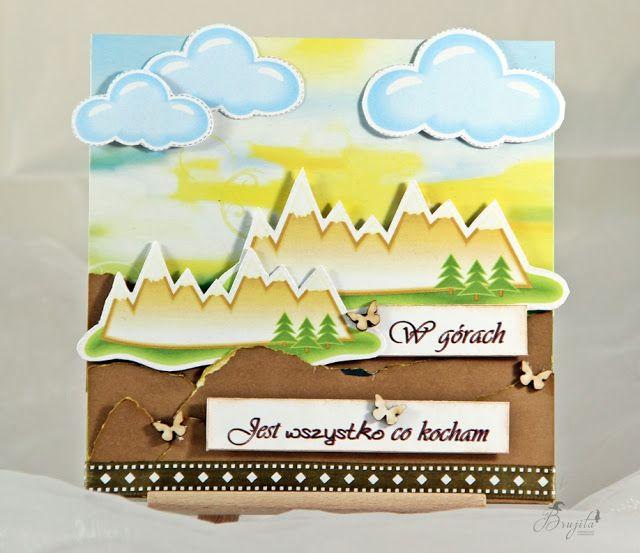 Brujita: Kartka sztalugowa góry