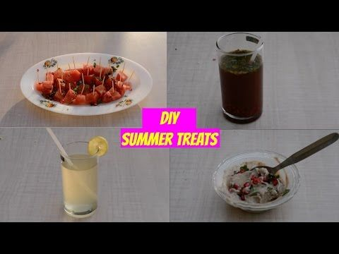 DIY: Summer Treats - YouTube