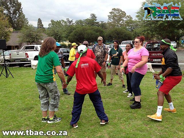 SARS Tribal Survivor Team Building Lanseria Gauteng