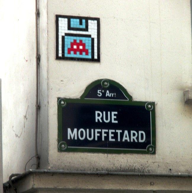 Space Invaders - Paris
