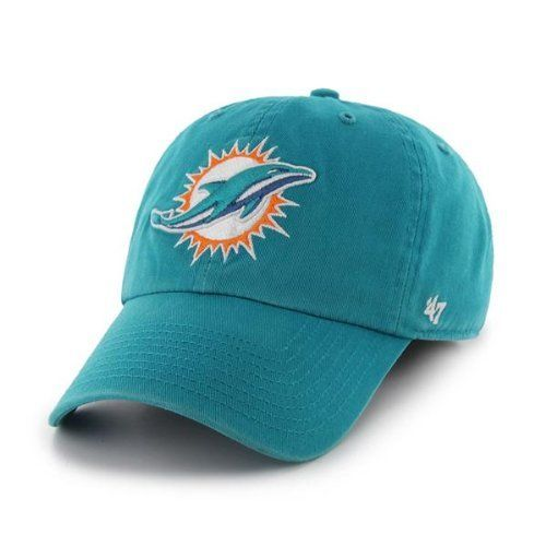 NFL Miami Dolphins Breast Cancer Awareness Clean Up Cap Neptune One Size