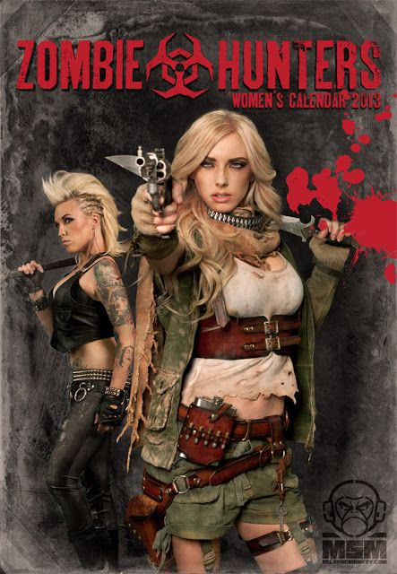 Tactical Gear and Military Clothing News : Zombie Hunters Women's Calendar 2013