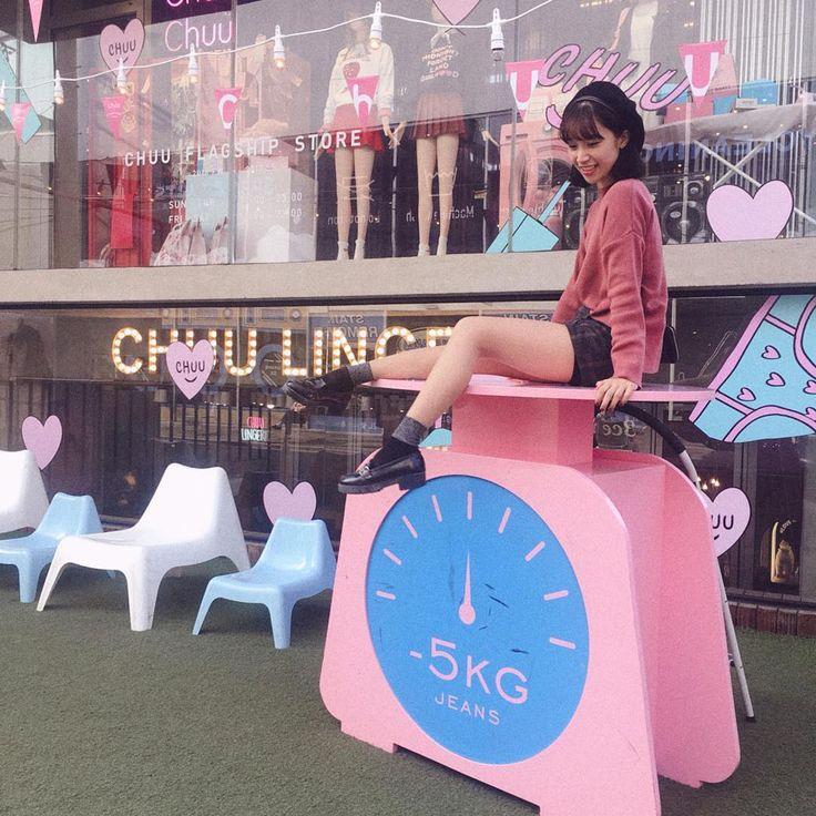 """ถูกใจ 585 คน, ความคิดเห็น 3 รายการ - @chuustore บน Instagram: """"@______haruka62 ・・・ ㅤㅤㅤㅤㅤㅤㅤㅤㅤㅤㅤㅤㅤ たぶん 初めて行った 弘大 ❤︎ ㅤㅤㅤㅤㅤㅤㅤㅤㅤㅤㅤㅤㅤ chuu の中は ピンクピンク で 幸せ空間だった 🤤…"""""""