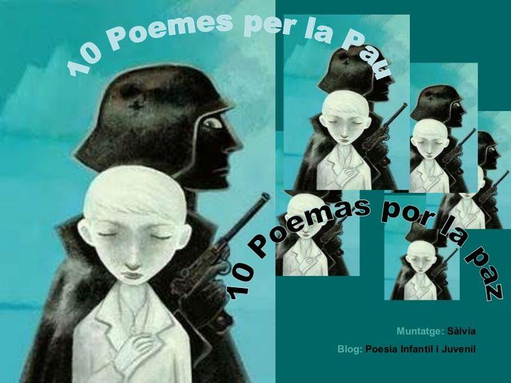 10 poemes per la pau i la no violència, en castellà i català / 10 poemas por la paz y la no violencia, en castellano y catalán.