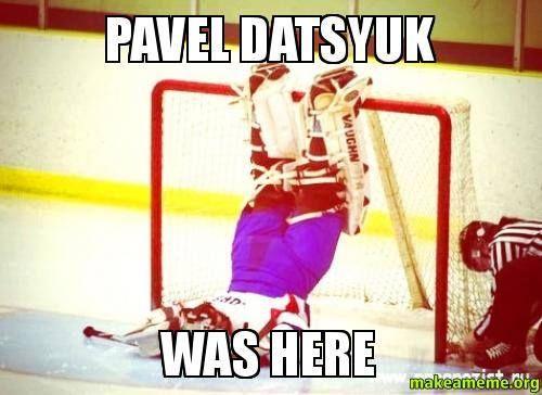 Pavel Datsyuk was here
