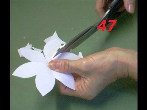AULA 47: Como fazer moldes das flores, que linhas e colas usar ❤ https://www.youtube.com/watch?v=RzdTsVzWiHA