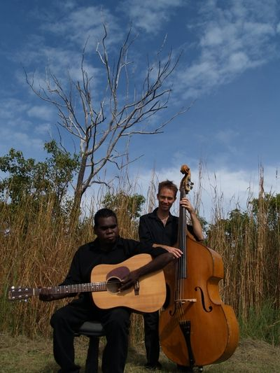 Geoffrey Gurrumul Yunupingu, a blind Aboriginal singer who comes from the remote territory of northeast Arnhem Land in Australia, and sings mostly in the dialects of the Gumatj clan.