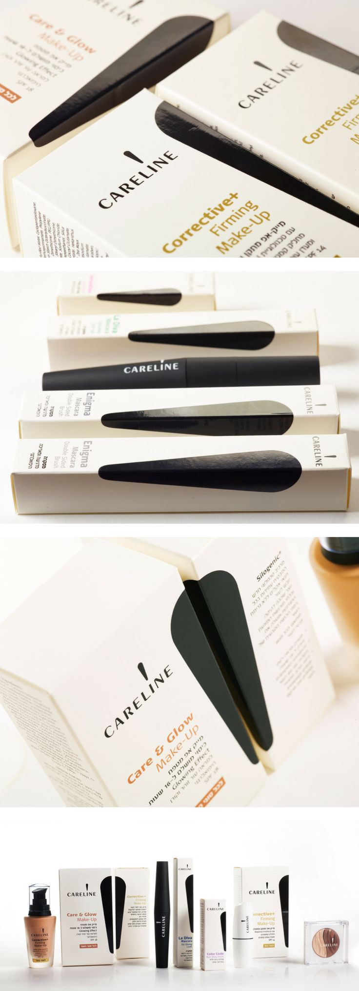 Careline Cosmetics #packaging