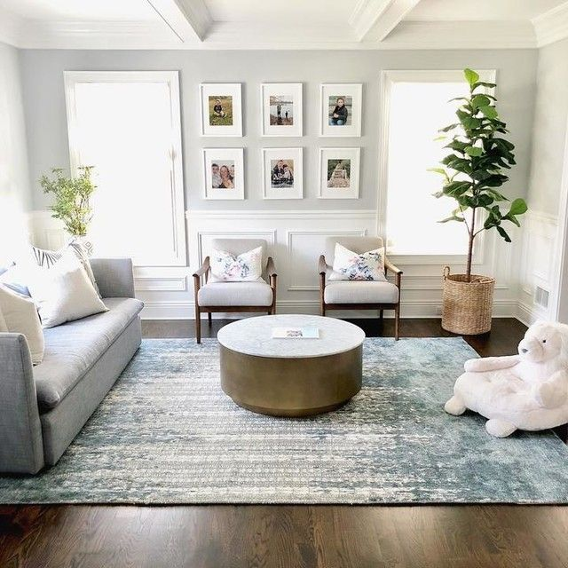 Faux Potted Fiddle Leaf Trees In 2020 White Couch Living Room