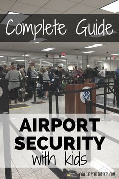Curious how you can avoid airport security lines on your next family trip and speed through airport security with kids? Don't miss this complete guide.