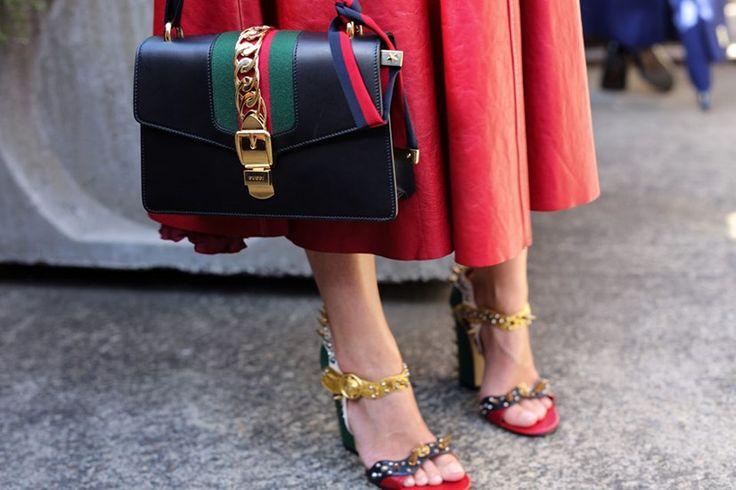 best bags from Australian fashion week street style : Harper's BAZAAR