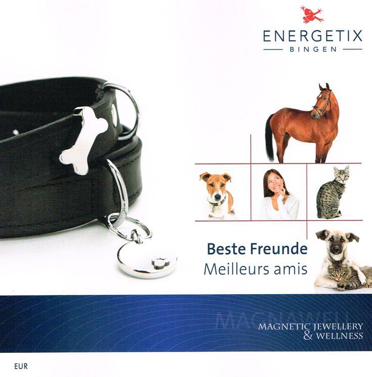 ook voor dieren en dierenliefhebbers zijn er sieraden en wellnessproducten met magneetwerking.