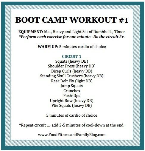 boot camp workout 1